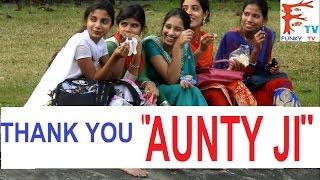 "Calling Cute Girls ""Aunty Ji""/Bhabi Ji Pranks,Pranks in india 2017 "" !!Funky TV!!"