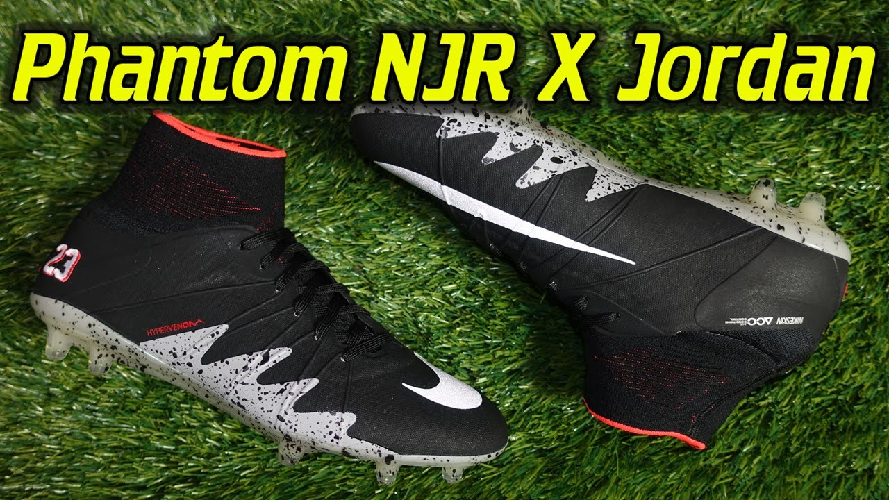 dfda66b67 Nike Hypervenom Phantom 2 Neymar X Jordan - Review + On Feet - YouTube