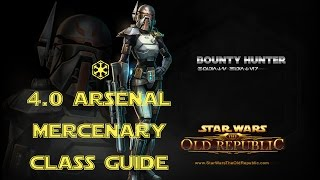 SWTOR 4.0 Arsenal Mercenary Class and Rotation Guide