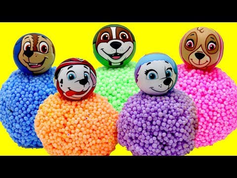 Thumbnail: Baby Learn Colors PAW PATROL Play Foam Balls Surprise Toys! Baby Toy Pup Rhymes Kids Children Fun