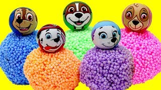 Baby Learn Colors PAW PATROL Play Foam Balls Surprise Toys! Baby Toy Pup Rhymes Kids Children Fun
