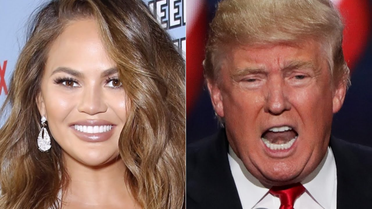 Here's How Chrissy Teigen Reacted To Trump's Election Loss