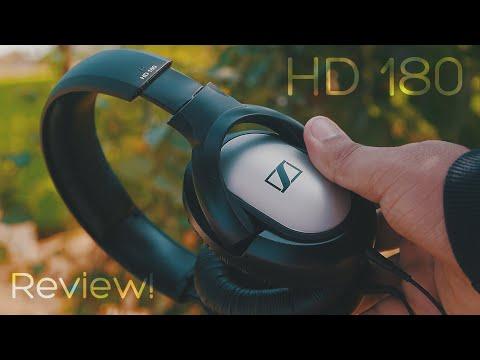Sennheiser HD 180 Headphones (Unboxing & Full Review) - Best Budget Headphones?