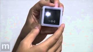 Smallest LED Projector-Hands On