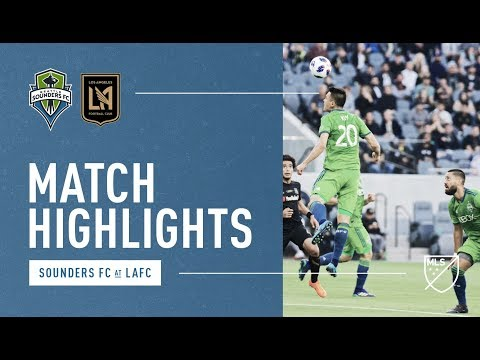HIGHLIGHTS: Seattle Sounders vs LAFC | April 29, 2018