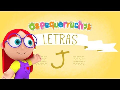 Letra J - LETRAS - Os Pequerruchos Almanaque