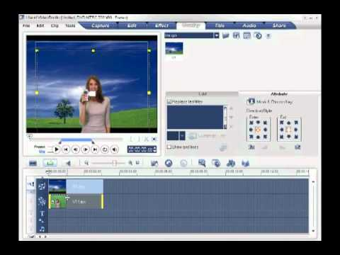 Chang Background,Colors,Frames in Ulead VideoStudio 10 in HQ.flv