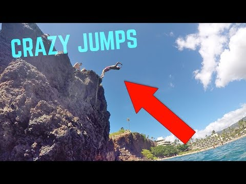 INSANE HAWAII CLIFF JUMPING!