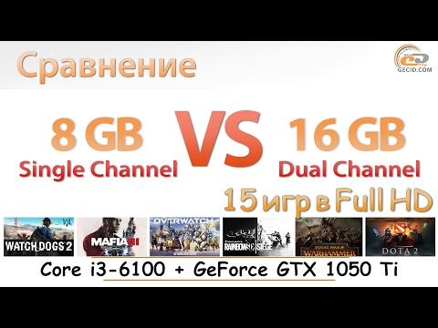 8 GB Single vs 16 GB Dual Channel: оцениваем эффективность апгрейда ОЗУ в бюджетной игровой системе