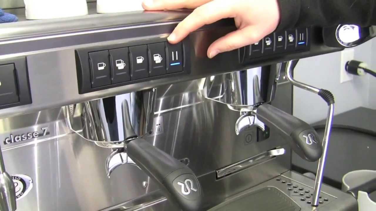 Crew Review Rancilio Classe 7 E Commercial Espresso Machine Youtube Coffee Making Class Intro