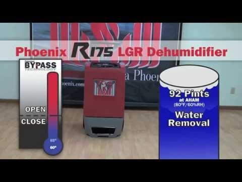 Phoenix R175 Restoration Dehumidifier