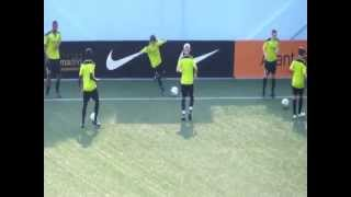 Manchester City Under 15 Training Session in Singapore 24th Lion City Cup (Part II)
