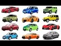 H to M | Brand of cars names of cars transportation for kids. Street vehicles for children