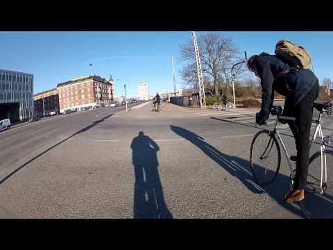 GoPro Bike ride through Copenhagen - raw footage