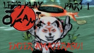 Let's Play Okami, Part 1: Enter Amaterasu!