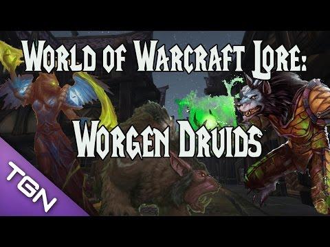 WoW Lore: Worgen Druids