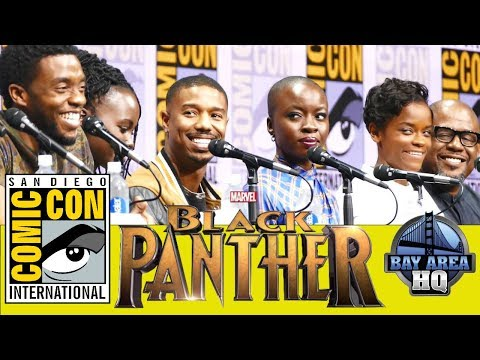 BLACK PANTHER Full Panel Highlights San Diego Comic Con 2017 Trailer Reaction Interview