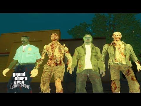 Misteri Kota Zombie - GTA San Andreas Dyom