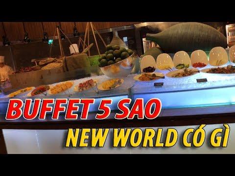 Lần đầu ĐI BUFFET TÔM HÙM HOTEL 5 SAO NEW WORLD QUẬN 1 ước mơ từ bé I cuộc sống sài gòn