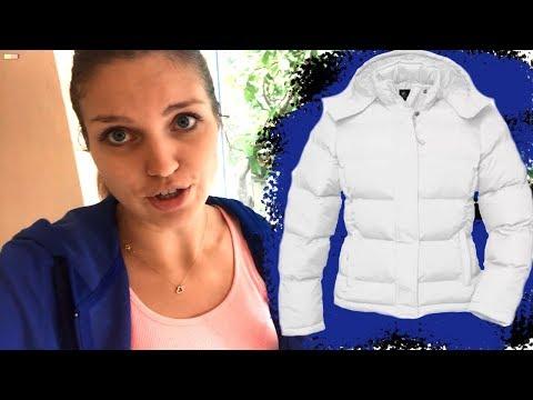 Как отбелить куртку