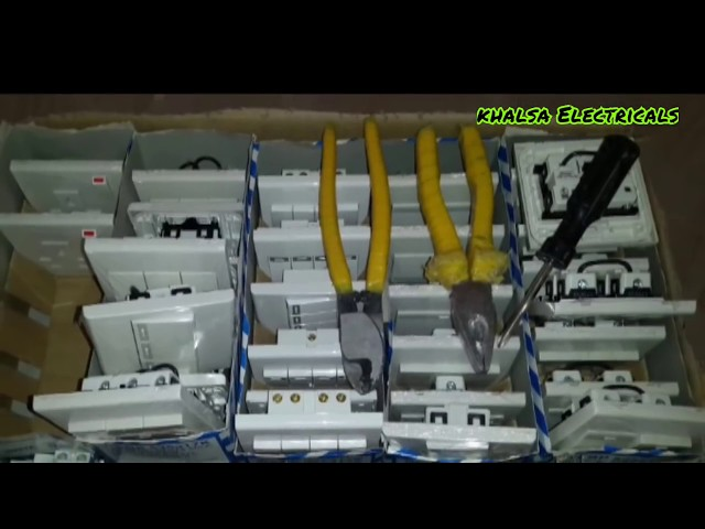 Saudi Arab video wiring!! switchboard socket wiring Electricals video!! New video house wiring