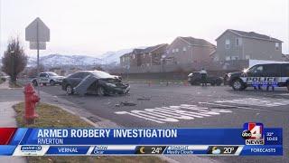 Two teens in custody following armed robbery in Riverton