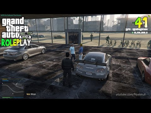 Nongkrong di Showroom - GTA 5 ROLEPLAY HVFN #41