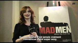 Interview de Christina Hendricks - Madame Figaro