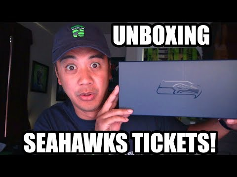 Unboxing Seahawks Tickets!