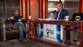 Actor Thomas Sadoski on Marshall Faulk & Kurt Warner's Competitiveness - 10/21/16