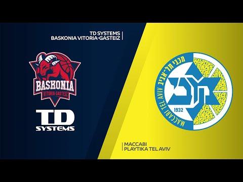 TD Systems Baskonia Vitoria-Gasteiz-Maccabi Playtika Tel Aviv Highlights | EuroLeague RS Round 13