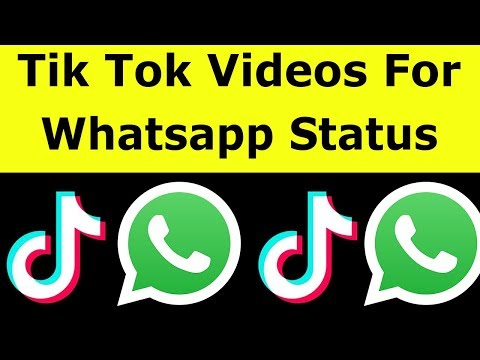How To Share Tik Tok Video On Whatsapp Status Download Videos Without Watermark 2020