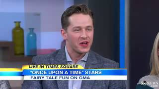 Jennifer and Colin on Good Morning America
