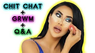 CHIT CHAT GRWM + Q&A | Youtube, Life update, Photoshoot, Future Plans!