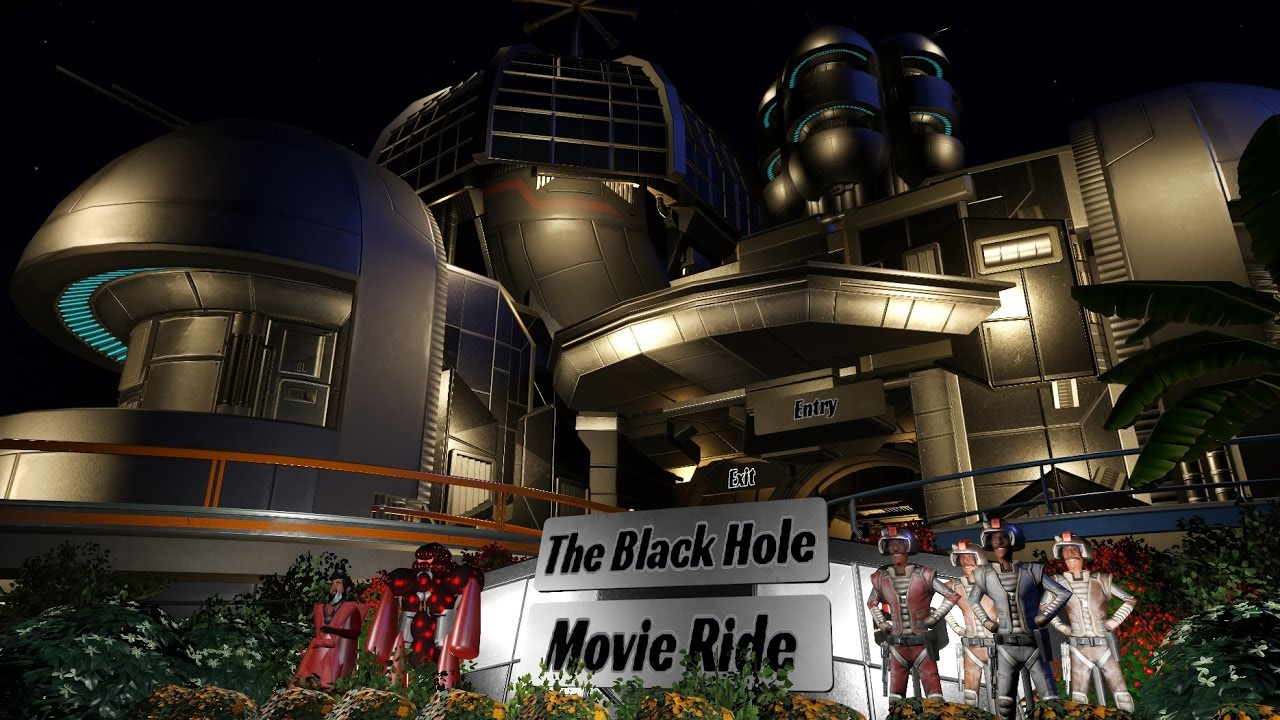 The Black Hole Movie Ride - Planet Coaster - YouTube