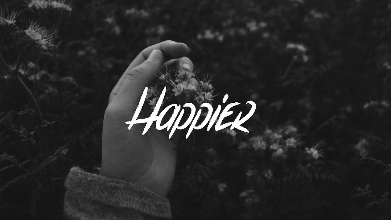 Marshmello & Bastille - Happier (Lyrics) - YouTube