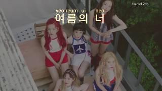 [KARAOKE] Red Velvet 레드벨벳 - 빨간 맛 (Red Flavor)