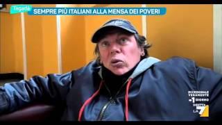 Sempre più italiani alla mensa dei poveri