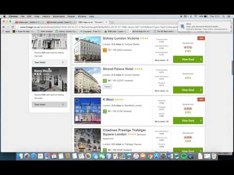 Subject A- Observation Booking.com vs Trivago.co.uk