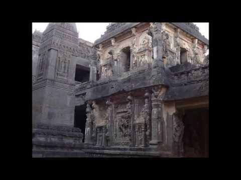The Kailasa temple in india