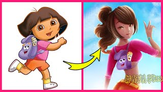 Cartoon Characters Grown Up | WANA Plus