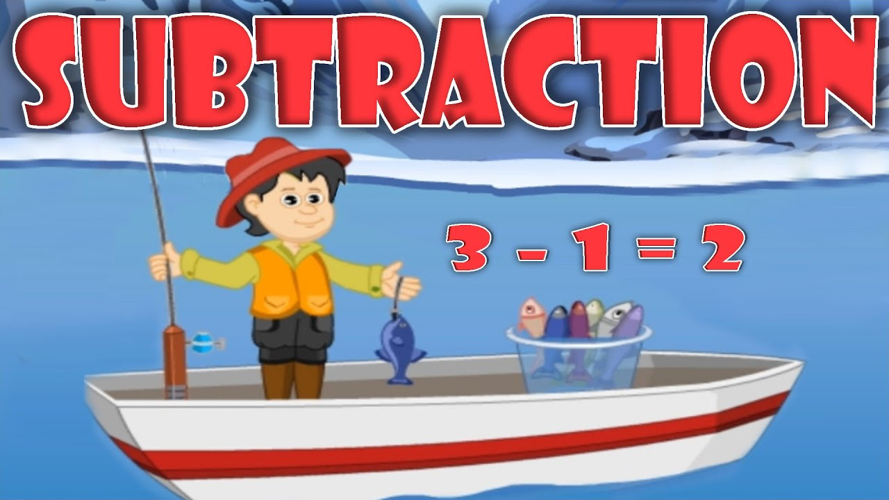 Subtraction - Basic Math For Kids, Educational Videos & Lessons for ...