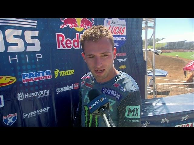 2021 Hangtown Motocross Classic - 250 Class Fastest Qualifier Justin Cooper