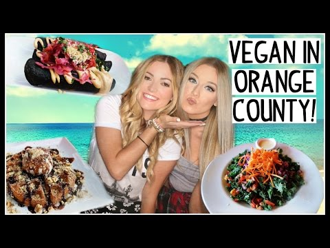 What I Ate Today! Vegan In Orange County!