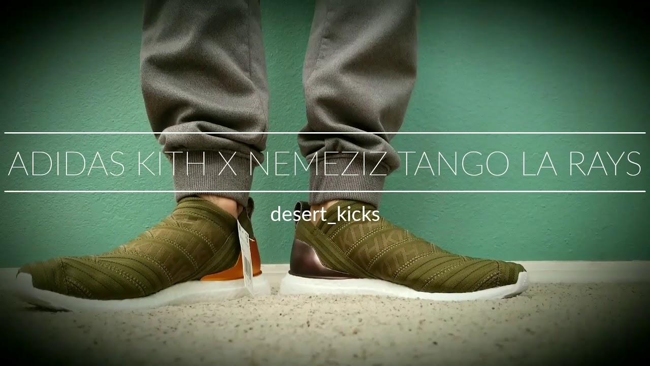 74eafb293 Adidas x Nemeziz Tango LA Rays on Feet - YouTube
