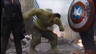 imagine dragons monster avengers hulk music video