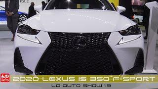 2020 Lexus IS 350 F-Sport - Exterior Walkaround - LA Auto Show 2019