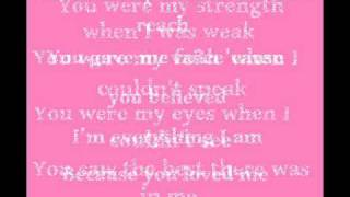 Because You Loved Me - Celine Dion [Lyrics] thumbnail