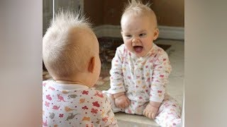 PRICELESS REACTIONS of BABIES; MIRRORS - The FUNNIEST BABY VIDEOS