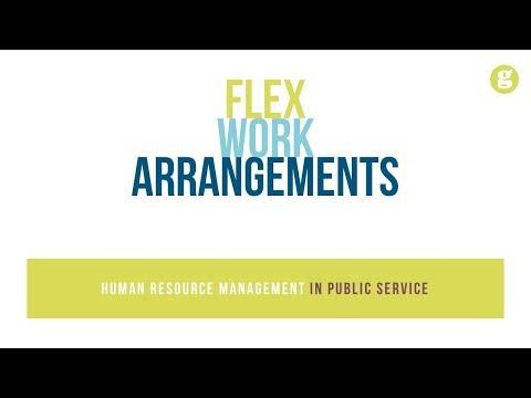 Flex Work Arrangements